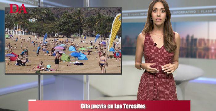 Santa Cruz implantará un sistema de cita previa para ir a Las Teresitas y otras noticias que debes conocer