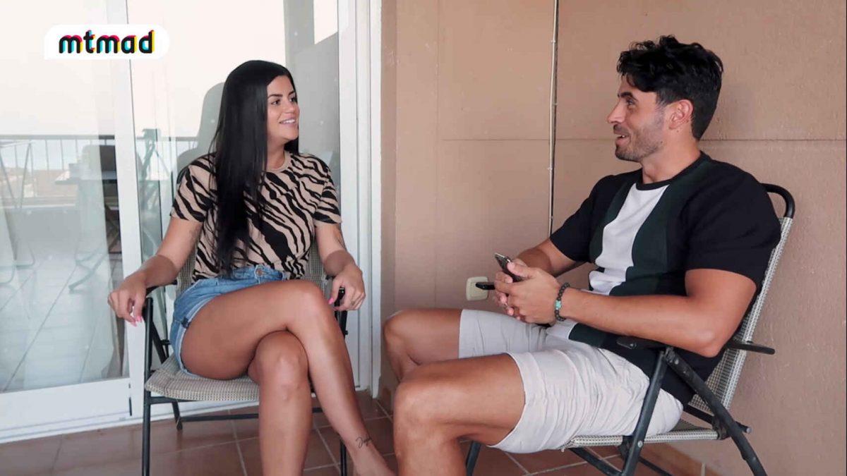 Lola Ortiz, en una entrevista con Noel Bayarri. Mtmad