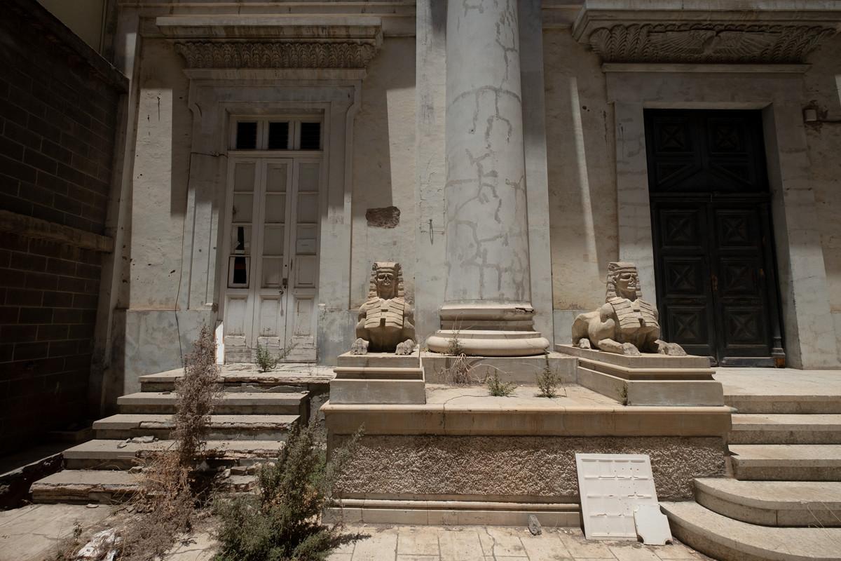 Actual estado del Templo Masónico de la capital. Fran Pallero