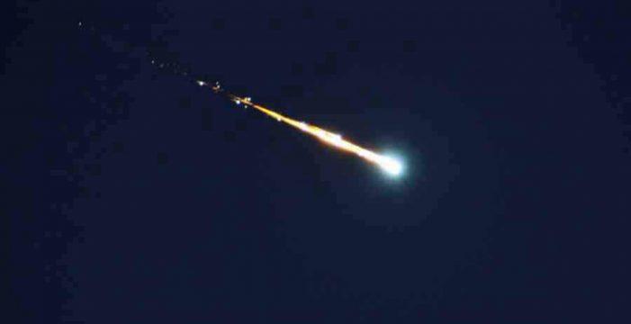 Cae un meteorito en el Norte de Tenerife