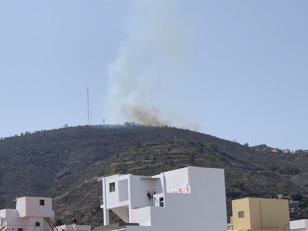 Conato de incendio en Los Campitos