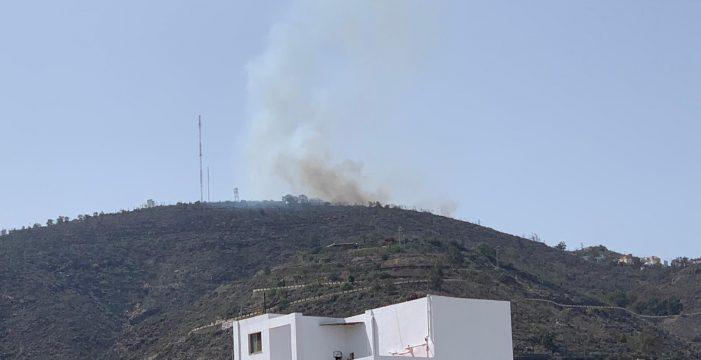 El incendio de Los Campitos es estabilizado pero no controlado