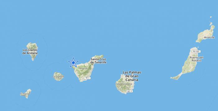 El IGN registra un terremoto de magnitud 4 en Buenavista del Norte