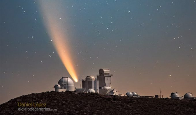 COMETA NEOWISE TENERIFE