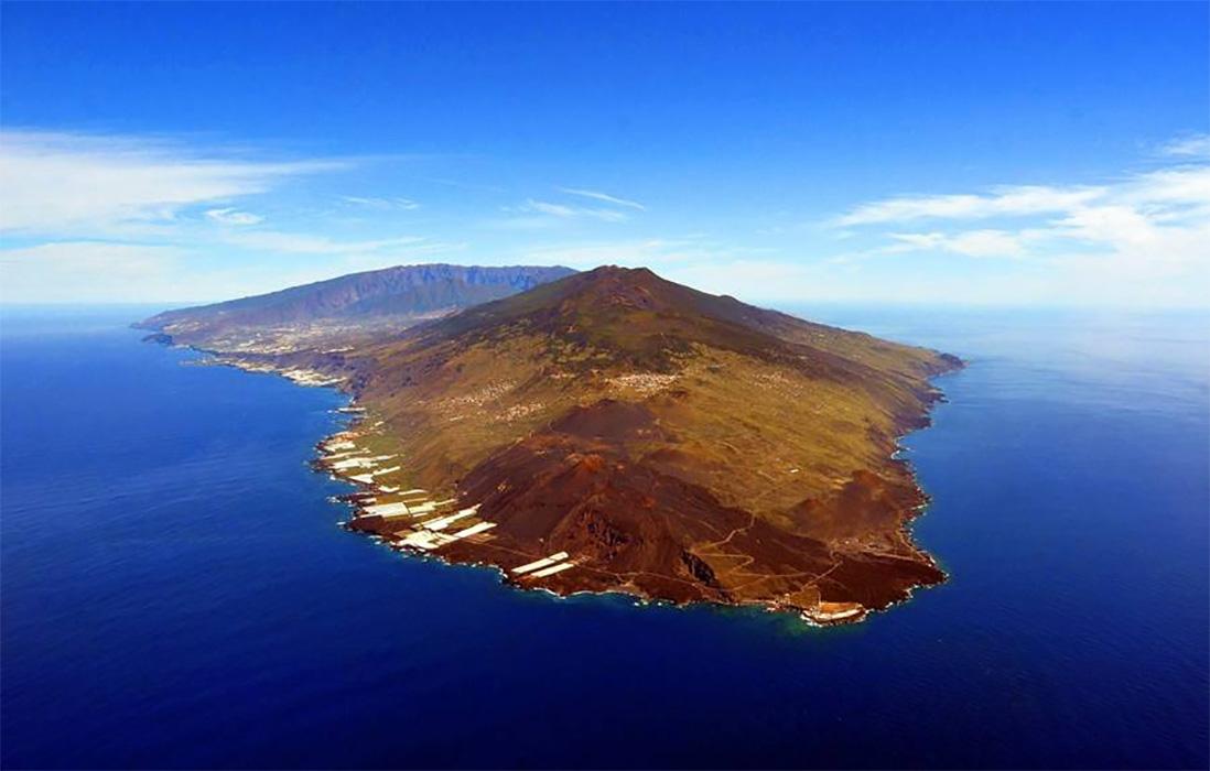 Panorámica del Volcán Cumbre Vieja