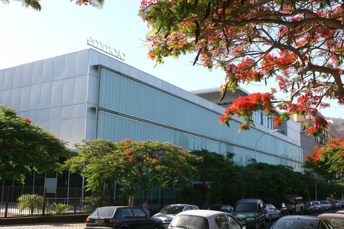 Sede central de la empresa Emmasa, en Santa Cruz de Tenerife. Sergio Méndez
