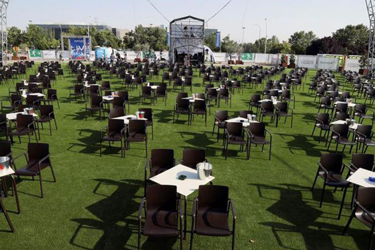 La Laguna convierte el aparcamiento de Bellas Artes en una zona cultural