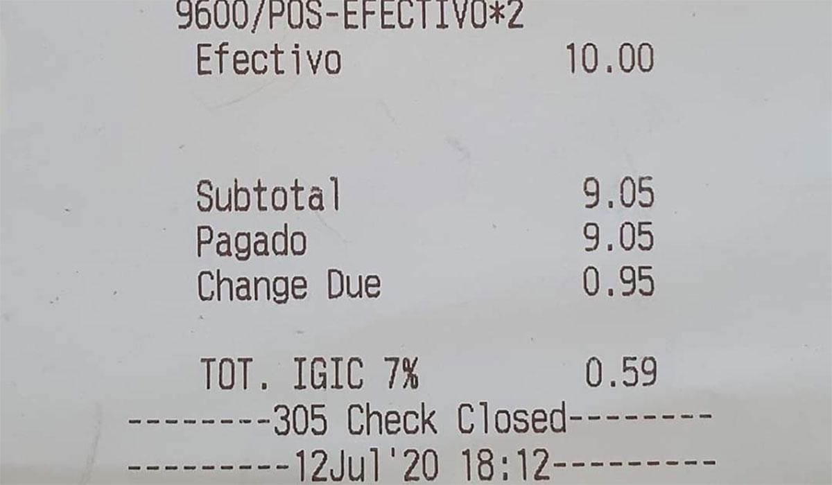 PRECIOS CHIRINGUITO PLAYA DUQUE