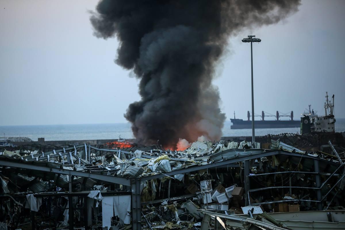 Líbano pone bajo arresto domiciliario a los directivos de la Autoridad Portuaria de Beirut. EP