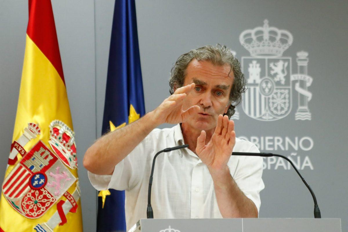 Fernando Simón. Europa Press