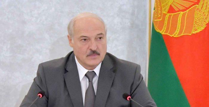 Lukashenko anuncia la formación de su nuevo gobierno en medio de las protestas contra su reelección