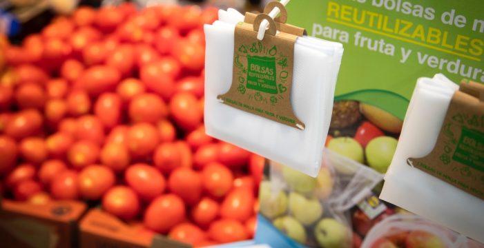 Lidl implementa la bolsa de malla para fruta  y verdura en todas sus tiendas para fomentar la reutilización