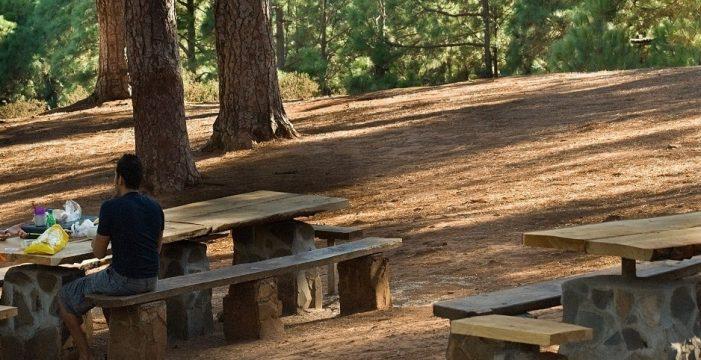 """Tenerife prohíbe las actividades en zonas forestales y pide """"prudencia"""" ante la alerta por altas temperaturas"""