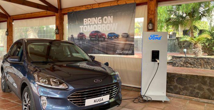 Los nuevos Ford Kuga Híbrido Enchufable (PHEV), EcoBlue Hybrid y Hybrid llegan a Canarias