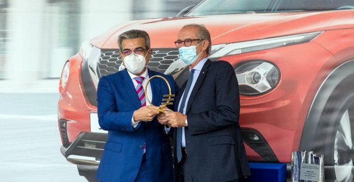 El nuevo Nissan Juke recibe el galardón de 'Mejor Coche de Canarias-2020'