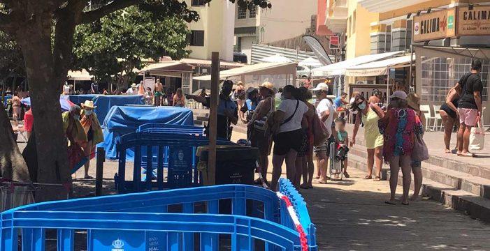 Segundo fin de semana de restricciones para evitar aglomeraciones en la playa de El Médano