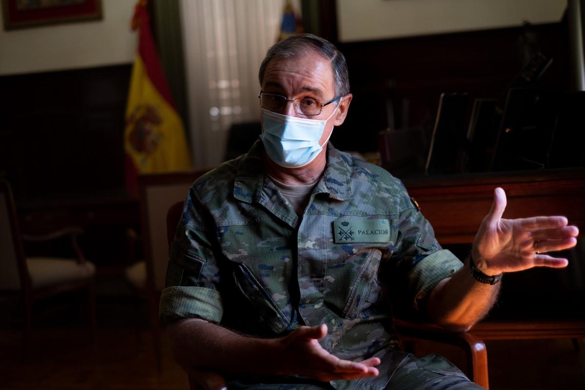 Carlos Palacios, teniente general del Mando de Canarias