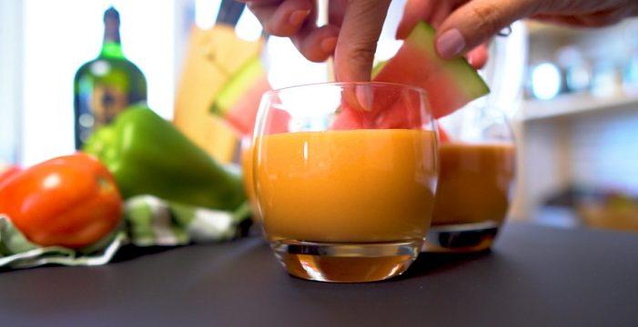 Prepara el gazpacho más ligero y con menos calorías del verano