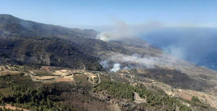 Estabilizado el incendio de La Palma