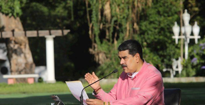 Maduro amplia por 30 días más el estado de emergencia en Venezuela a causa de la COVID-19