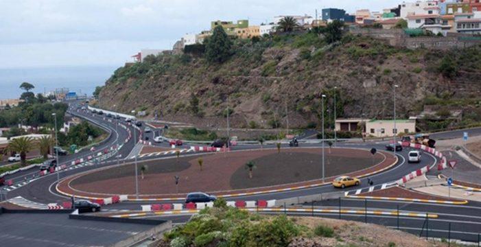 La rotonda de Icod desaparece en el tramo del Anillo que conecta con San Juan de la Rambla