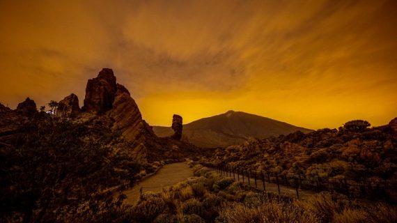 Una espectacular foto del Teide para despedir al empresario Luis Lerín