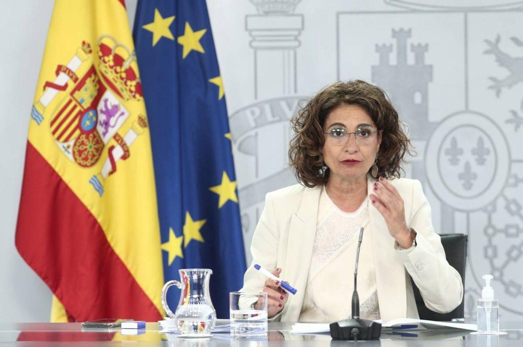 La ministra de Hacienda y portavoz del Gobierno, María Jesús Montero. EP