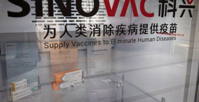 El 95% de los voluntarios no tuvieron efectos adversos a la vacuna china de Sinovac