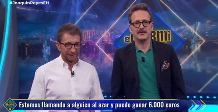 """La surrealista llamada de 'El hormiguero': """"No quiero 6.000 euros; no me gusta el programa"""""""