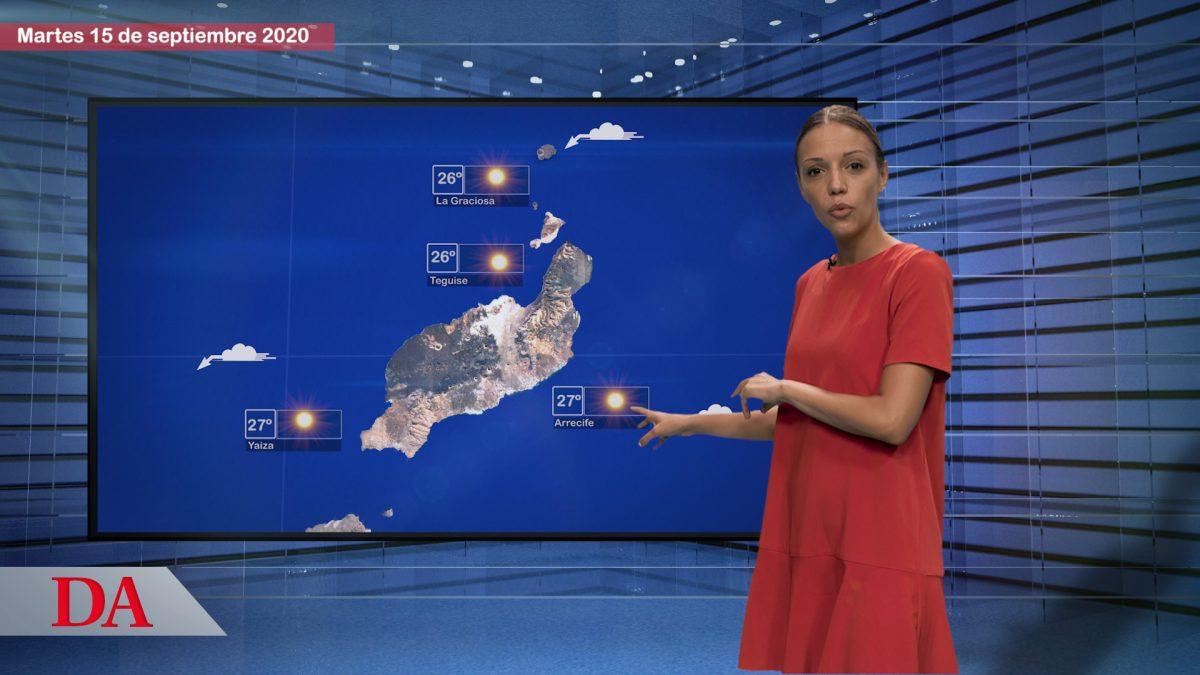 Sofía Negrín te cuenta el tiempo en Canarias para el martes, 15 de septiembre. DAMedia