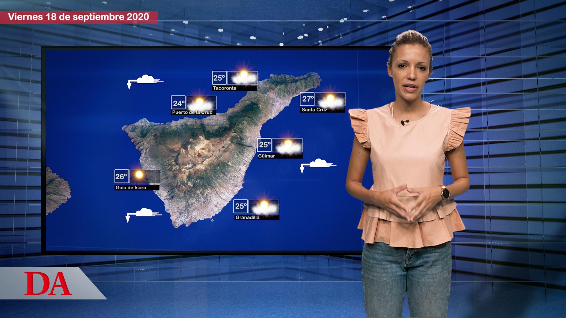 La previsión del tiempo en Canarias. DAMedia
