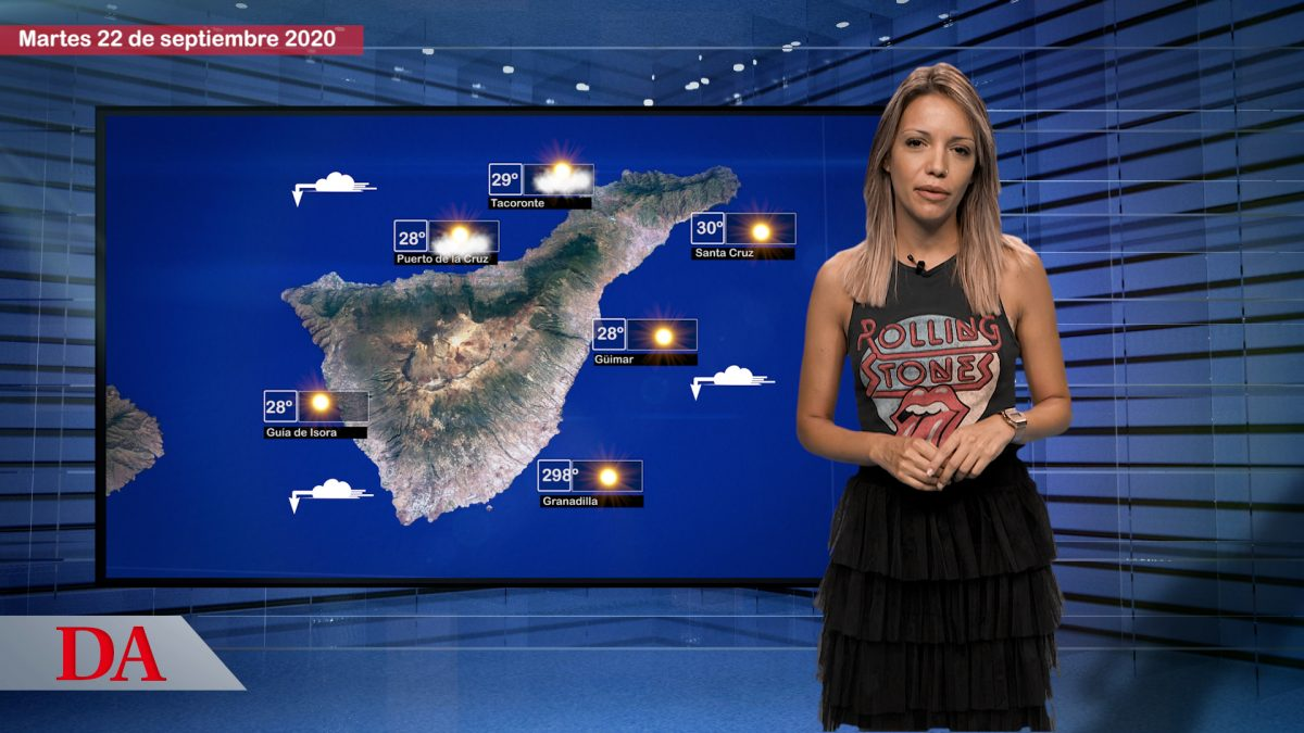 La previsión del tiempo en Canarias para el 22 de septiembre de 2020. DAMedia