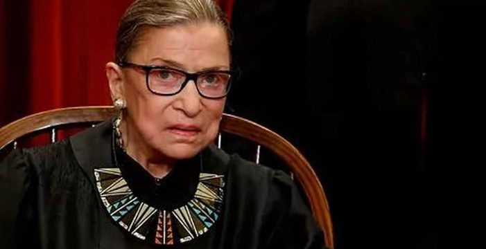 Muere la jueza del Tribunal Supremo de EEUU, Ruth Bader Ginsburg, a los 87 años