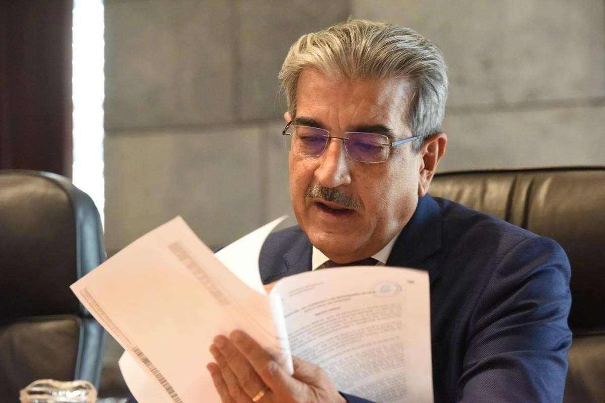 El vicepresidente de Canarias, Román Rodríguez. EP