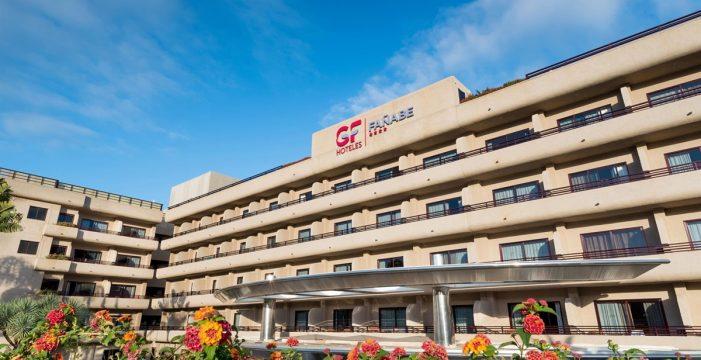 El hotel GF Fañabé cierra de forma temporal ante el escaso ritmo de reservas