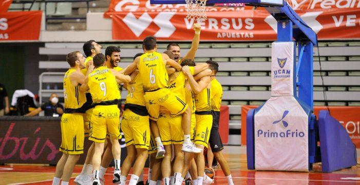 El Canarias logra un triunfo épico en Murcia (82-84)