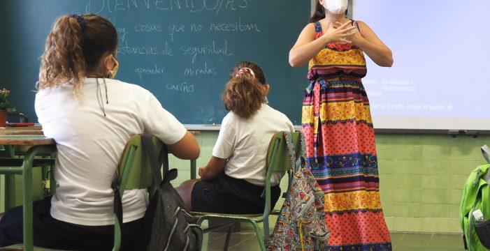 Los profesores celebran su Día Mundial en un curso marcado por la COVID