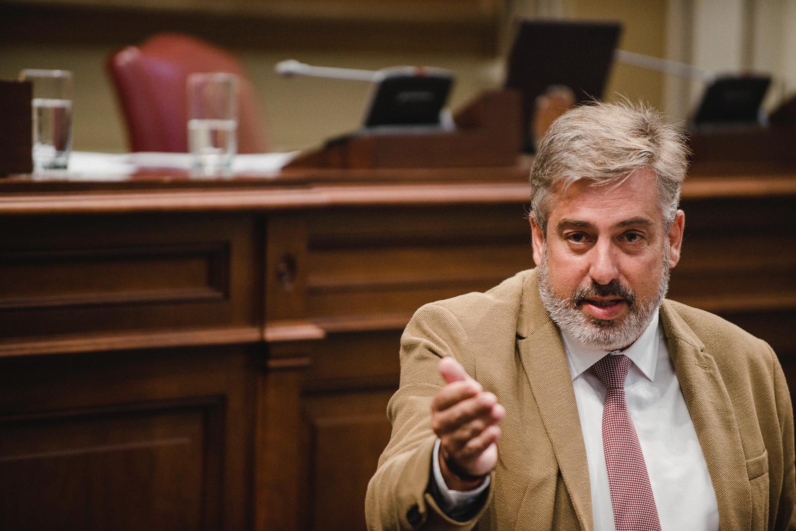 El secretario de Organización del PSOE en Canarias, Jorge González. DA