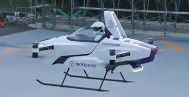 El coche volador 'despega' en Japón y podría llegar en 2023