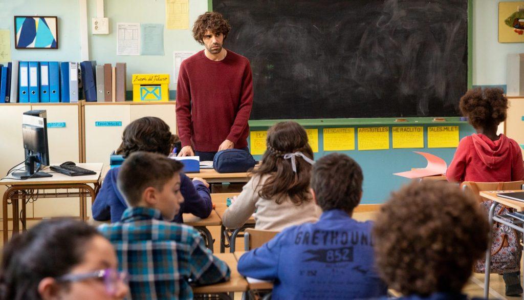 David Ilundain reivindica la figura del profesor en su segunda película, 'Uno para todos'.