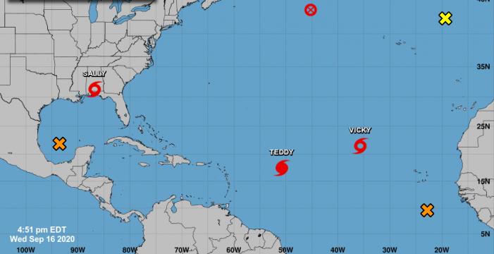 Huracanes: ninguno viene hacia Canarias… por ahora