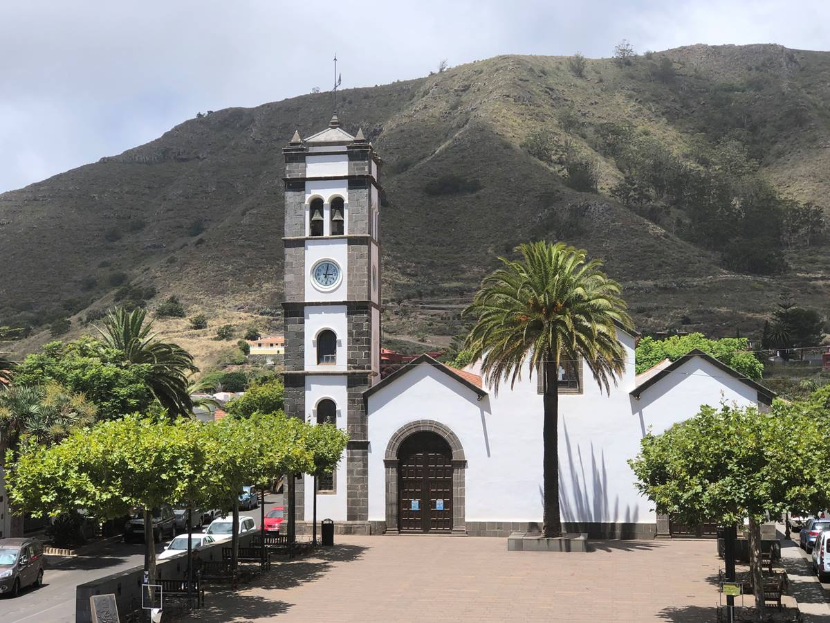 Plaza de San Marcos, en Tegueste. DA