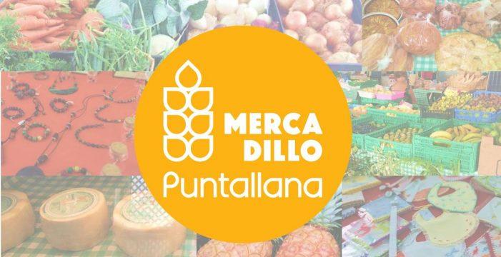 El Mercadillo de Puntallana abre   hoy estrenando imagen corporativa