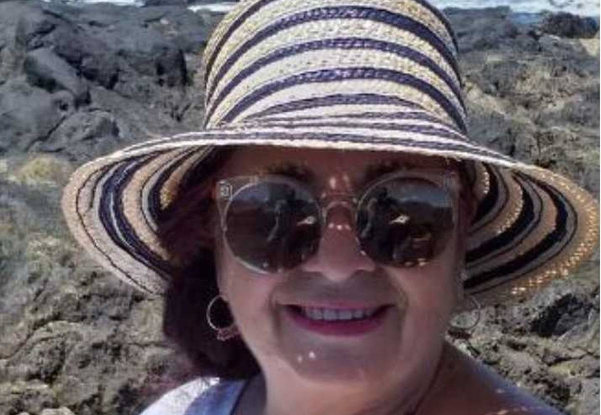 Candelaria Marrero Pérez edita 'La diosa de piedra' con ediciones Aguere e Idea. DA