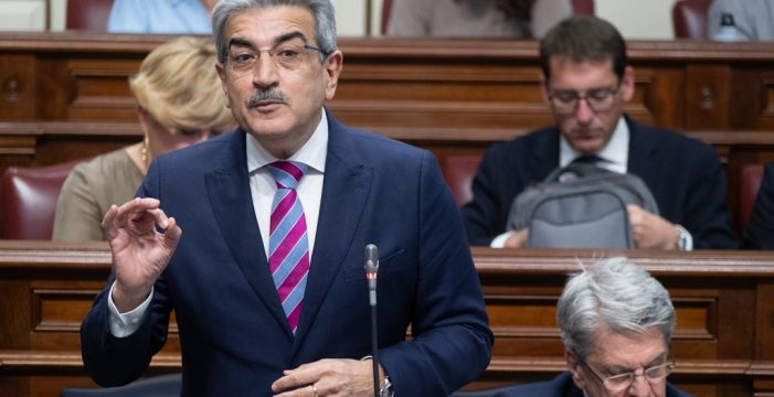 """Román Rodríguez: """"Los Presupuestos 2021 no hipotecarán el futuro de las islas"""""""
