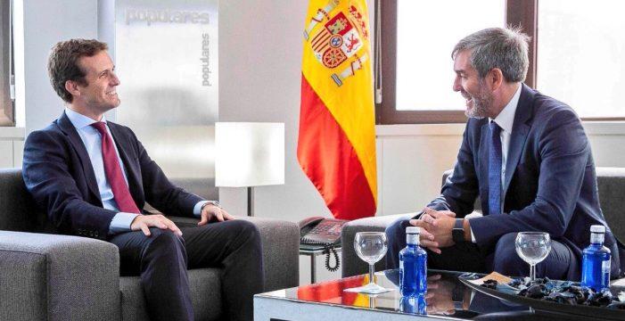 Objetivo:  desestabilizar Canarias