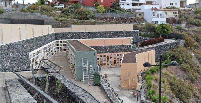 Arona construye 320 nuevos nichos en el cementerio ante el aumento de la demanda