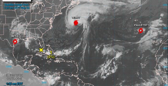 Paulette 'resucita' como tormenta tropical y puede dejar lluvias en Canarias