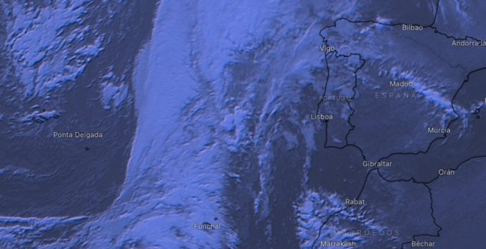 La borrasca Bárbara llega mañana a Canarias con fuertes vientos y lluvia