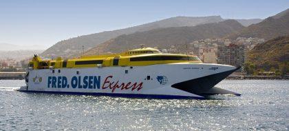 Fred. Olsen Express reduce las conexiones entre Tenerife y La Palma